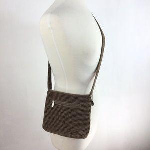The Sak Shoulder Crossbody Woven Purse Crochet Bag